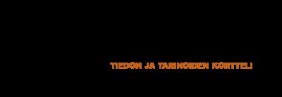 """Kantin logo: """"Kantti - tiedon ja tarinoiden kortteli"""""""
